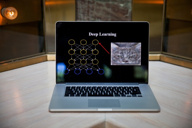 Andrew Ng's laptop explains Deep Learning